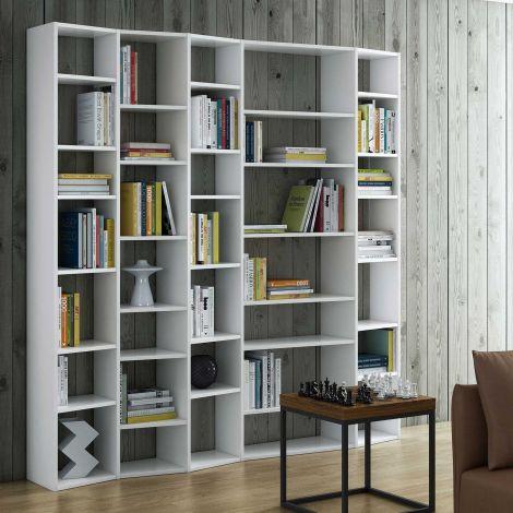 Boekenkast Varna model 5 - wit