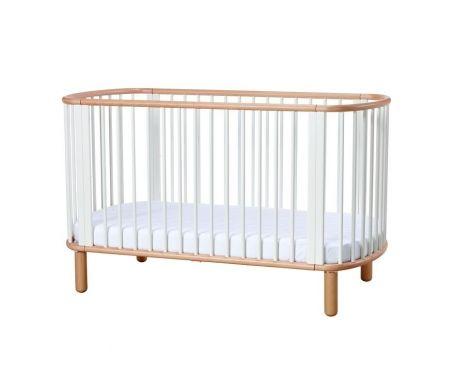Flexa Babybed - wit/natuur
