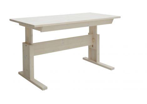 Bureau met lade 140cm - white wash