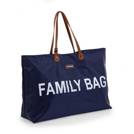Verzorgingstas Family Bag - blauw/wit