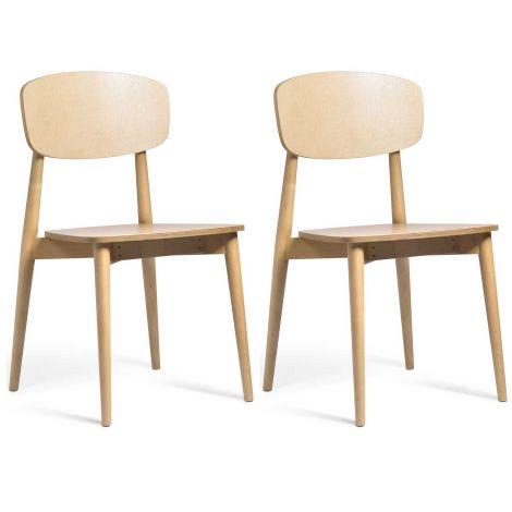 Set van 2 stoelen Sally