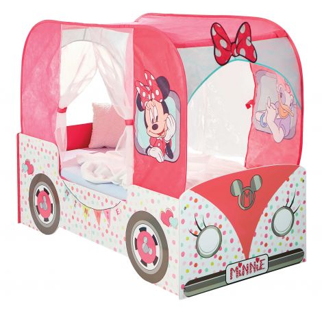 Peuterbed Camper Minnie Mouse