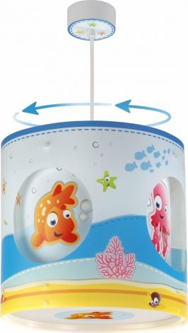 Draaiende Hanglamp Aquarium