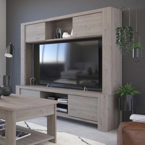 Tv-meubel Porto 180cm - grijs