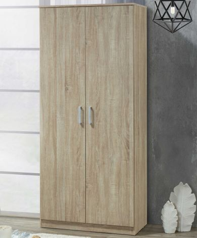 Kledingkast Lias 2 deuren & 42 cm diep