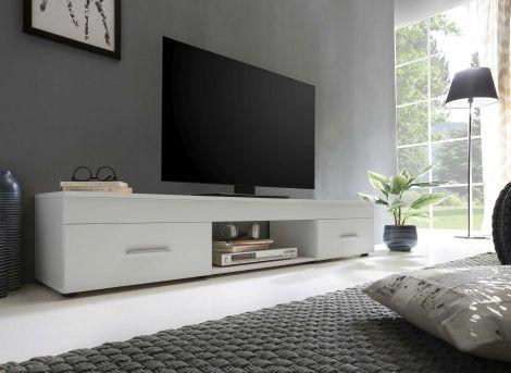 Tv-meubel Sami 2 laden 160cm - wit