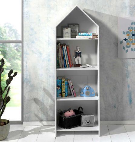 Boekenkast Casami huis - wit