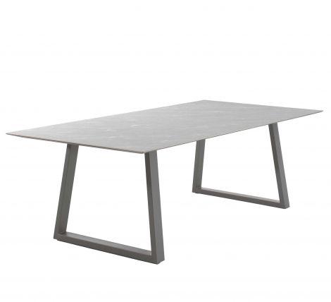 Tuintafel Miriam 240x120 - grijs