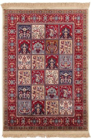 Vloerkleed Bizantine Berber 140x70 - rood