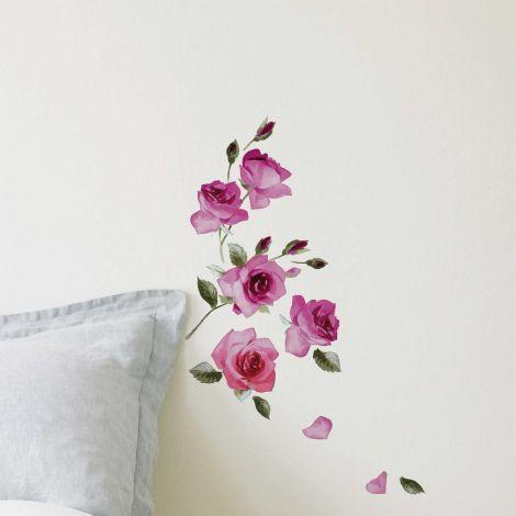 Muursticker Roses