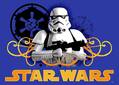 Tapijt Star Wars - Storm