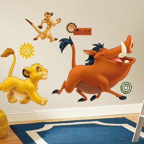 Muurstickers Disney  Lion King