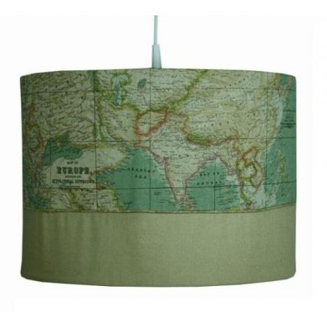 Hanglamp World map
