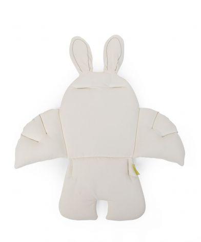 Stoelkussen Rabbit - wit