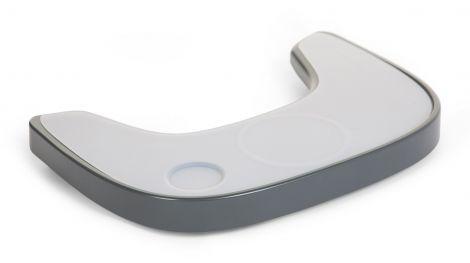 Eettablet Evolu ONE.80° met siliconen placemat - antraciet