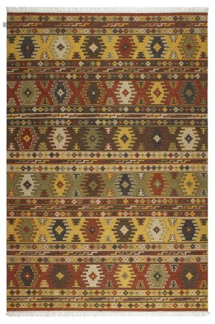 Vloerkleed Kilim Sivas 2 300x200 Traditioneel geweven - Multicolor
