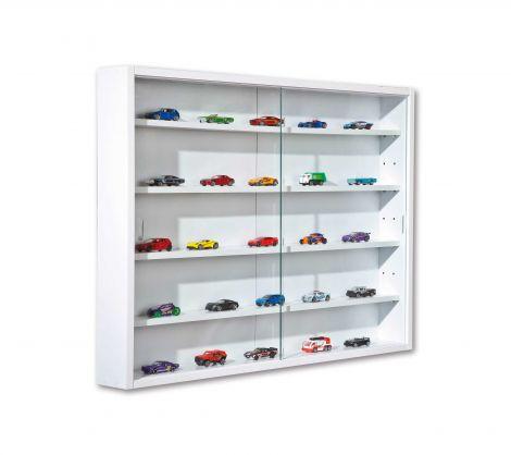 Vitrinekastje wit voor aan muur - Collecty