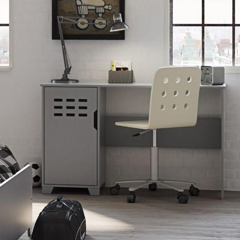 Bureau Loki 125cm - grijs