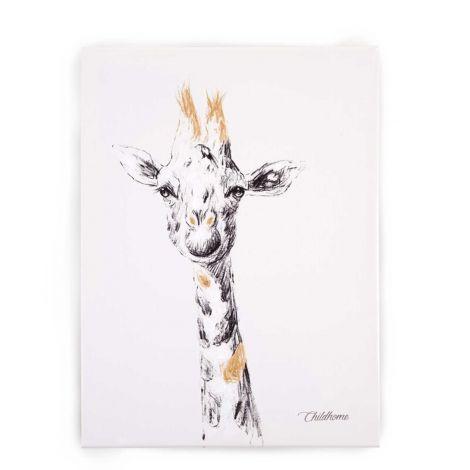 Schilderij giraf 30x40cm