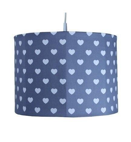 Hanglamp Hart grijs