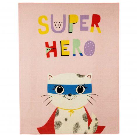 Tapijt Superhero Cat