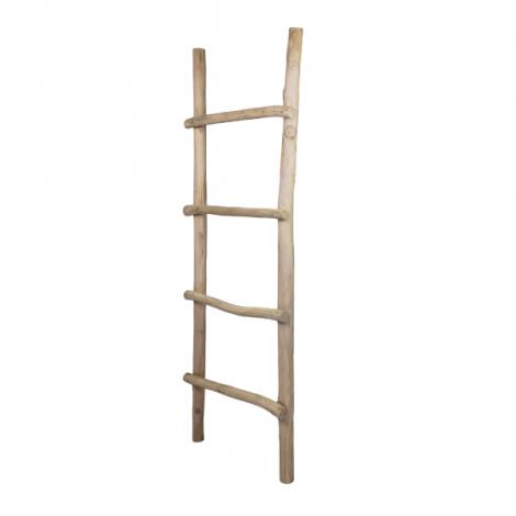Decoratieve ladder 50x150cm - teak