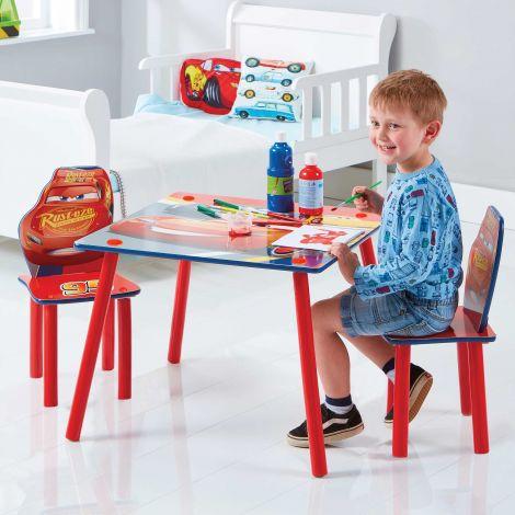 Kindertafel met stoeltjes Cars