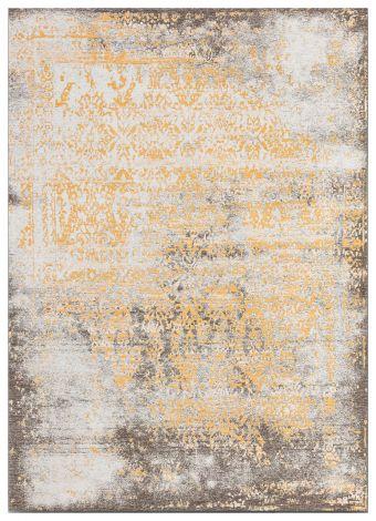 Vloerkleed Argentella Floral 230x160 Vintage - Goud/beige