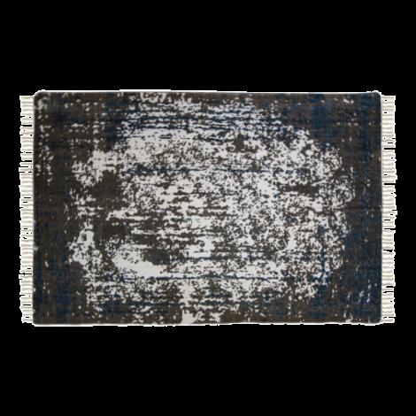 Vloerkleed Vinta 300x200 katoen – teal/beige