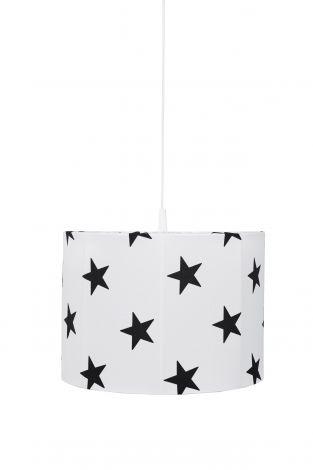 Hanglamp Stars - wit/zwart