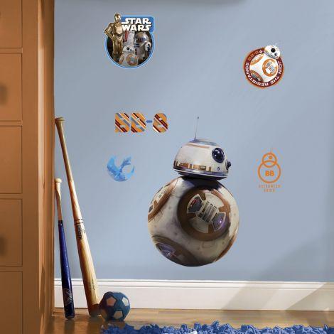 RoomMates muurstickers - Star Wars VII BB-8