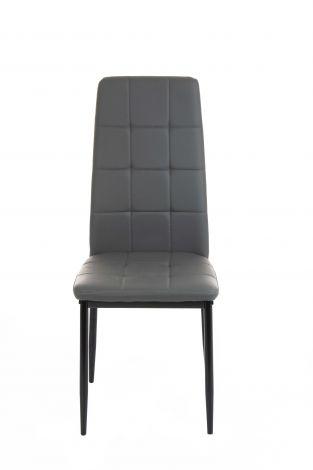 Set van 4 stoelen George - zwart