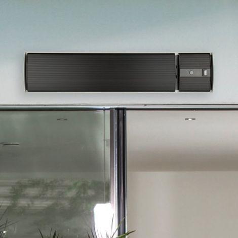 Elektrische terrasverwarmer Hermes - zwart