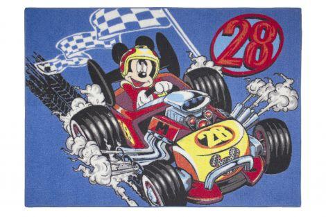 Tapijt Mickey - racer
