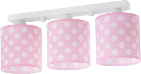 Plafondlamp Dots Pink