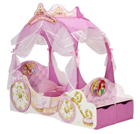 Peuterbed Disney Princess Koets