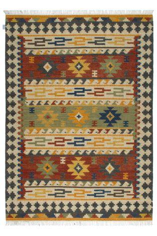 Vloerkleed Kilim Sivas 300x200 Traditioneel Geweven - Multicolor