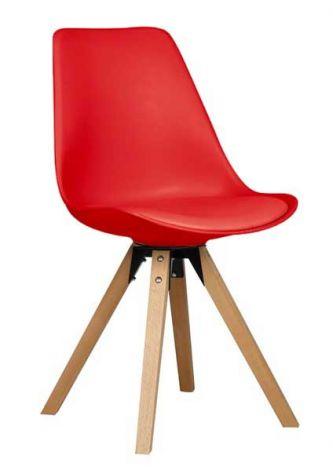 Stoel Cley - rood
