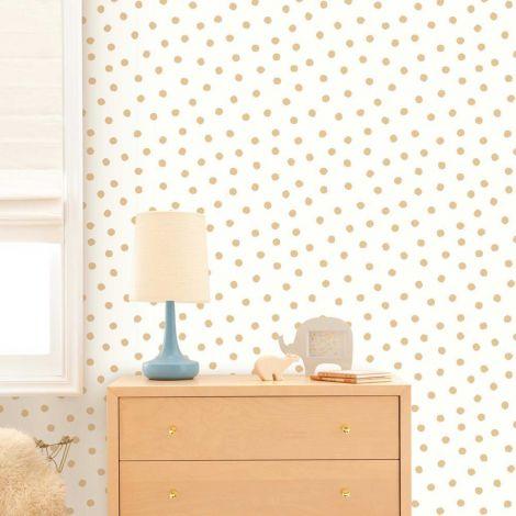 Zelfklevend behang Gold Dot