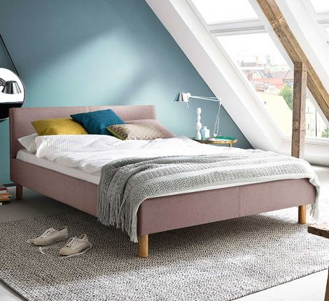 Bed Amber 140x200 - oudroze