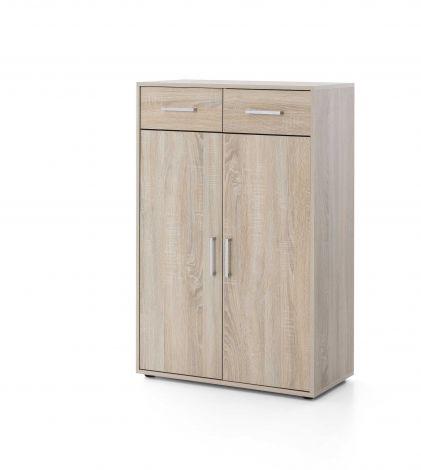 Kast Maxi-office 2 deuren & 2 laden - sonoma eik