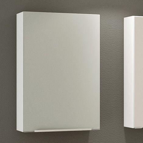 Hangkast Hansen 40cm 1 deur - grijs/wit