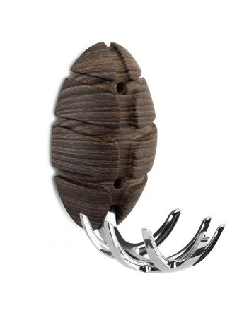 Kapstok Bug - houtdecor donker