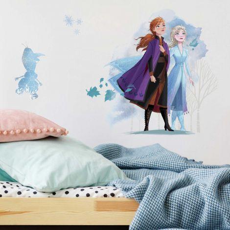 XL muurstickers Frozen 2 Anna, Elsa & Olaf