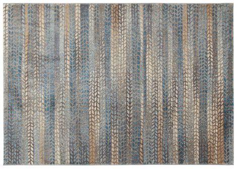 Vloerkleed Four Seasons 2 Grey Blue 133x190