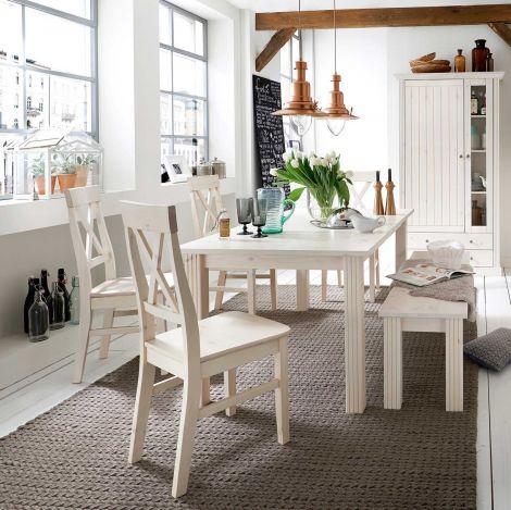 Set van 2 stoelen Edmund - wit