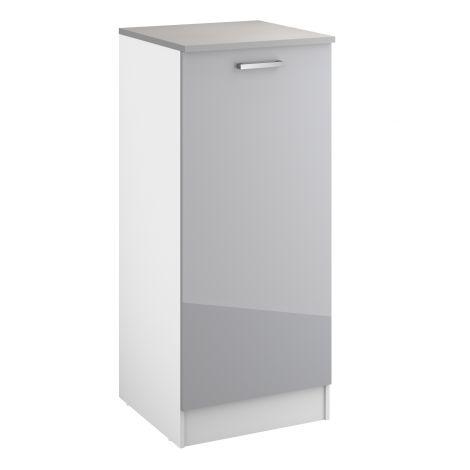 Keukenkast Eli 60x141 met deur - grijs