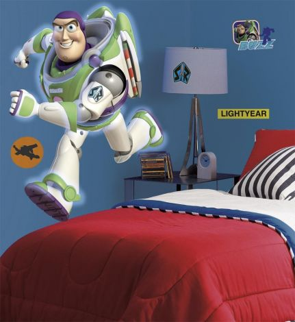 RoomMates muurstickers - Buzz Glow in the dark