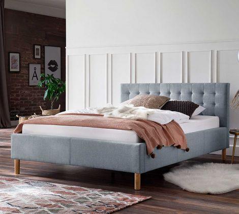 Bed Marilou 120x200 - blauw