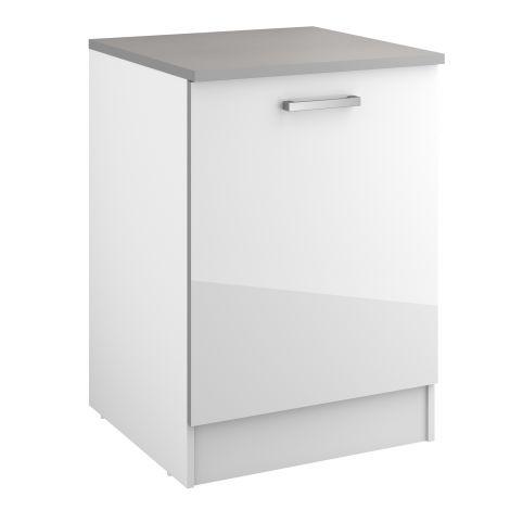 Onderkast Eli 60 cm met deur - wit